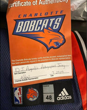 Load image into Gallery viewer, D.J Augustin Signed Charlotte Bobcats Jersey Size XL