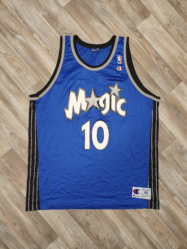 Darrell Armstrong Orlando Magic Jersey Size Large