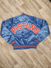 Load image into Gallery viewer, Detroit Pistons Jacket Size Medium