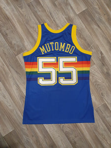 Dikembe Mutombo Denver Nuggets Jersey Size Medium