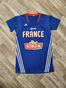 France Basketball Blank Woman's Jersey Size Medium
