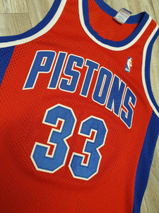 Grant Hill Detroit Pistons Jersey Size Medium