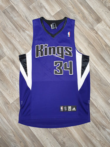 Jason Thompson Signed Sacramento Kings Jersey Size Medium