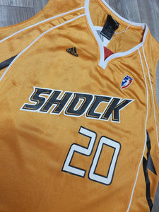 Marion Jones Tulsa Shock Jersey Size Large