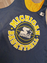 Load image into Gallery viewer, Michigan Wolverines Reversible Jersey Size Large