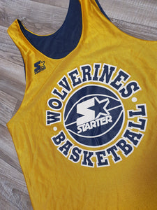 Michigan Wolverines Reversible Jersey Size Large