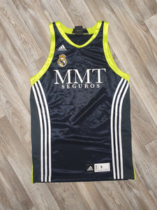 Real Madrid Basketball Jersey Size Small