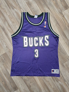 Shawn Respert Milwaukee Bucks Jersey Size Large