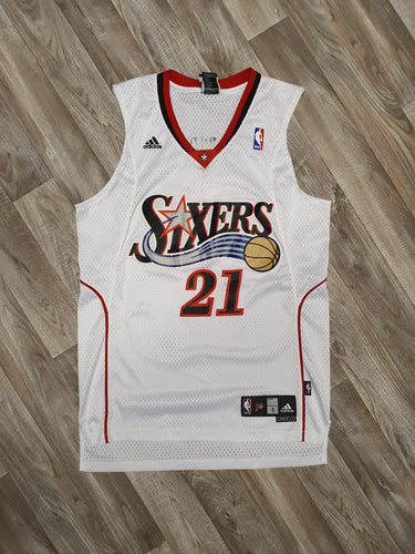 Thaddeus Young Philadelphia 76ers Jersey Size Small