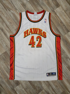 Theo Ratliff Signed Atlanta Hawks Jersey Size XL