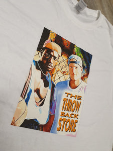White Men Cant Jump White T-Shirt Size S M L and XL