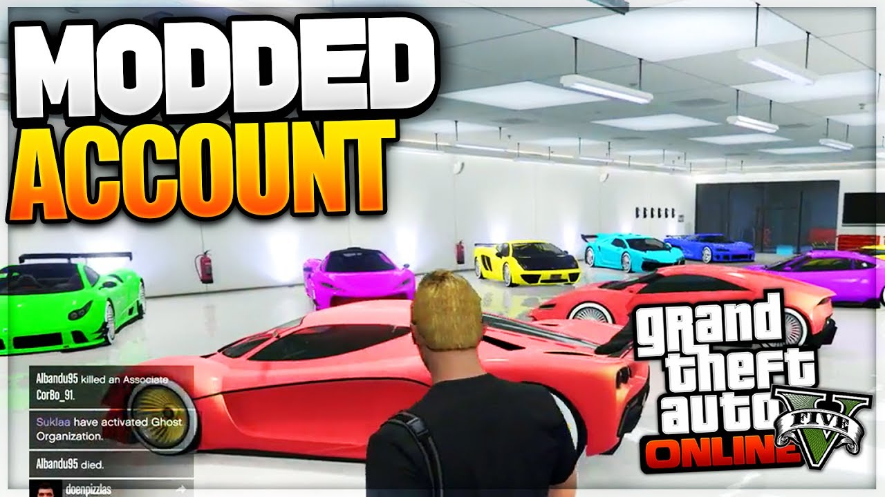 LUXURY GTA 5 MODDED ACCOUNT (ALL CONSOLES)