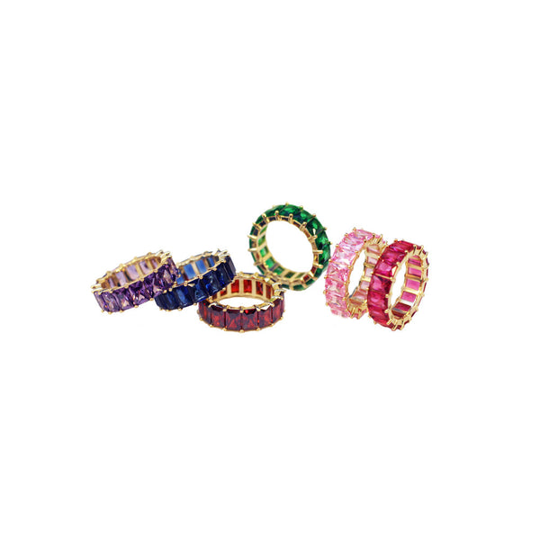 The Mireille Rainbow Ring