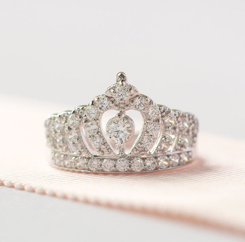 The Enchanted Crown Ring