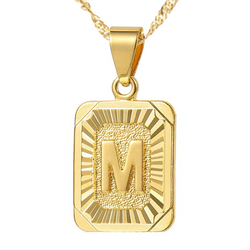 The Gold Initial Pendant