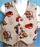 316 - 2pc VEST & CARGOS - Cars themed - Sz 000