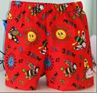 289 - BASIC SHORTS - RED BUG - Size 000