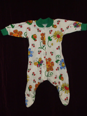 BLOOMING BABY Sleepsuit - Green - Size 000