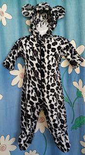 252 - SNOW LEOPARD SUIT - Sz 0 (complete with ears & tail)