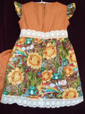 36 HAPPY GARDENS Dress & Pant - size 1