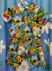 261 - PILLOW PETS PJ's - BEE - 2pce - Size 0