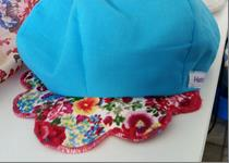 324 - Flower Bulb Hat - Blue - Size 1