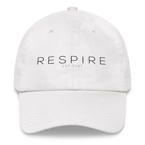 Original Respire Dad Hat [ WHITE ]