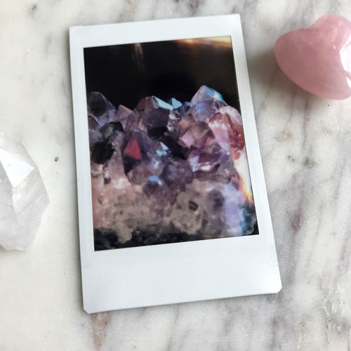Amethyst Dreams - Instax Mini Print