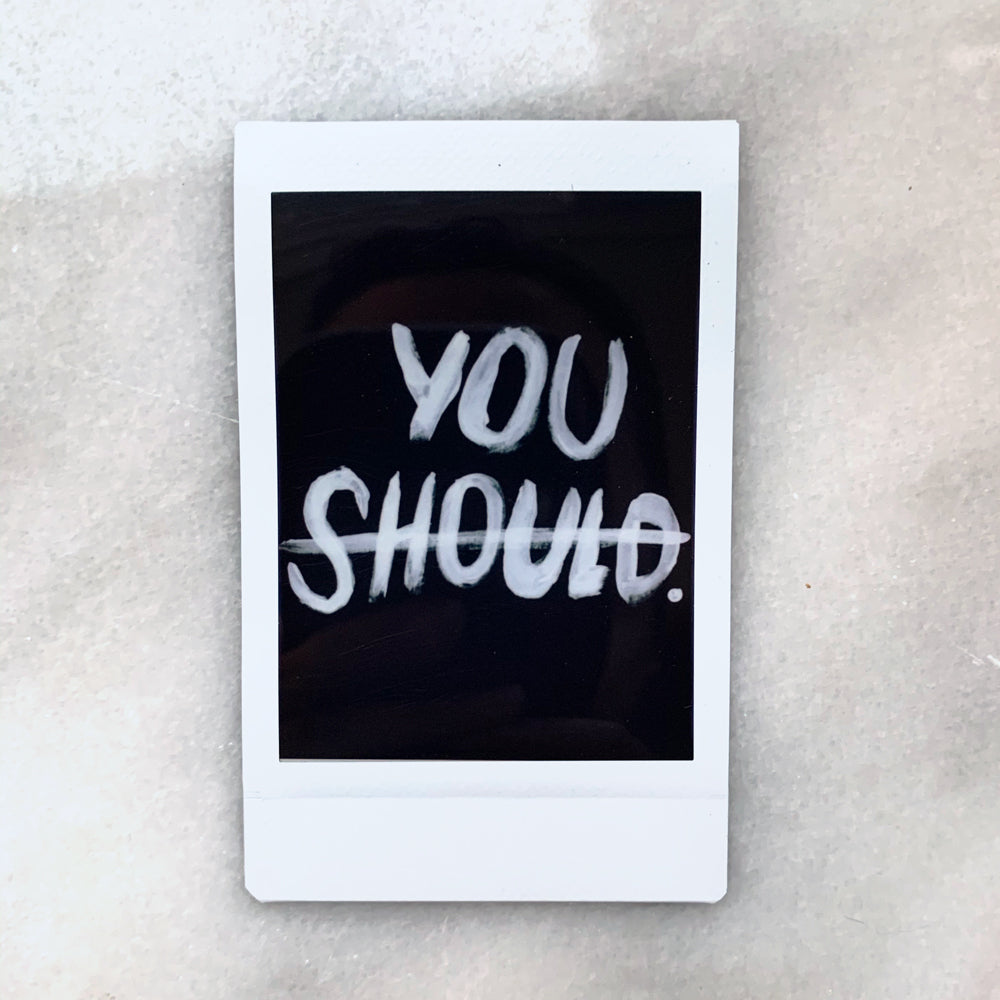"""You"" - Instax Mini Print"