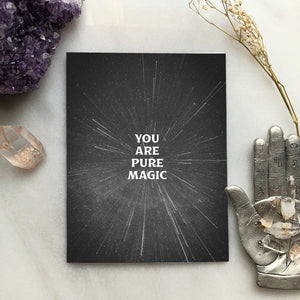 Pure Magic Greeting Card