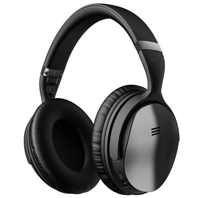 Active Noise Cancelling Headphones ANC Over Ear Wireless Bluetooth Headphones w/Mic, Electroplating Stylish Look Comfortable Protein Earpads Travel Work Computer Home