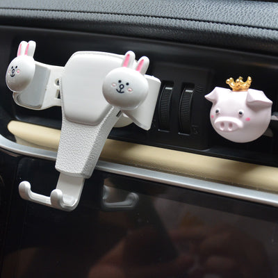Cute Mobile Phone Car Bracket