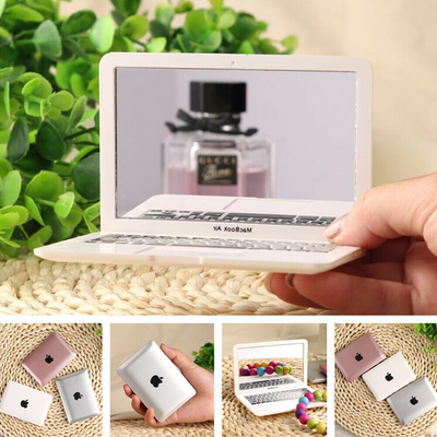 Mini Macbook Air Style Portable Mirror Apple Notebook Creative Make up