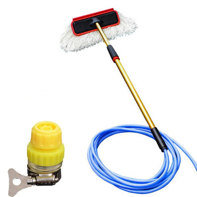 Car Cleaning Soft Hair Washing Brush with Long Handle