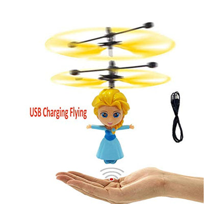 Flying Doll Toy Hand Induction Plastic Fairy Toys