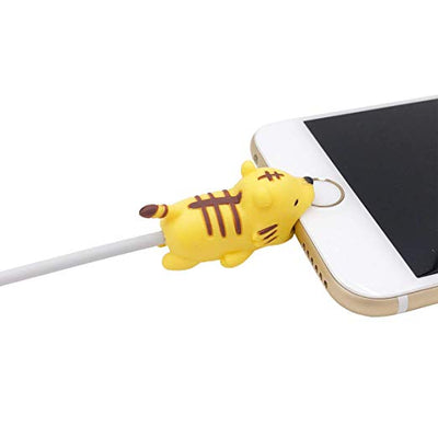6PCS Cable Bites for iPhone Cable Cord Cute Animal Phone Data Line Cell Phone Accessories Protects Cable Creative Gift