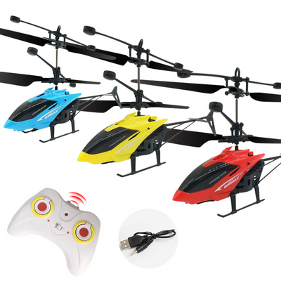Infrared Induction RC Helicopter Aircraft Flying Toys with Remote Control Mini Drone LED Flash Light