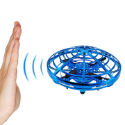 Hand Controlled Drone for Kids Infrared Induction Helicopter 360°Rotating Ball with LED Lights Flying Toys