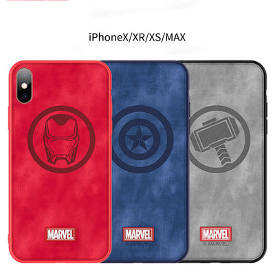 Marvel Avengers Endgame iPhone X/XS/XR/XS MAX Cloth Phone Case