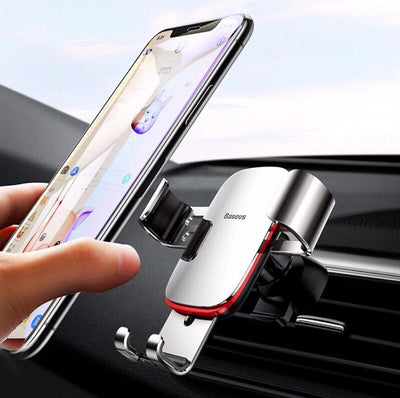 Luxury Metal Gravity Car Phone Holder