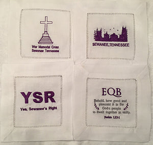 Sewanee Beverage Napkin Set