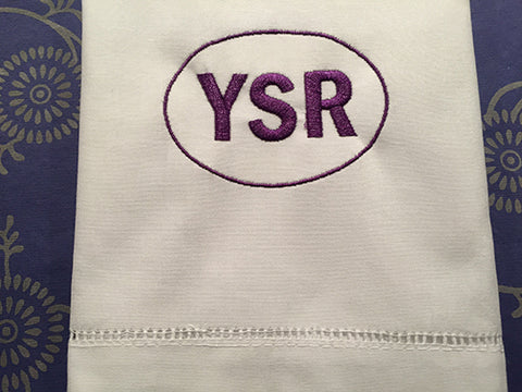 YSR Hemstitched Guest Towel, Yea, Sewanee's Right
