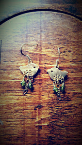 Kissing Birds Earrings