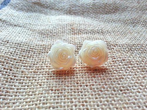 Pearl Floral Studs