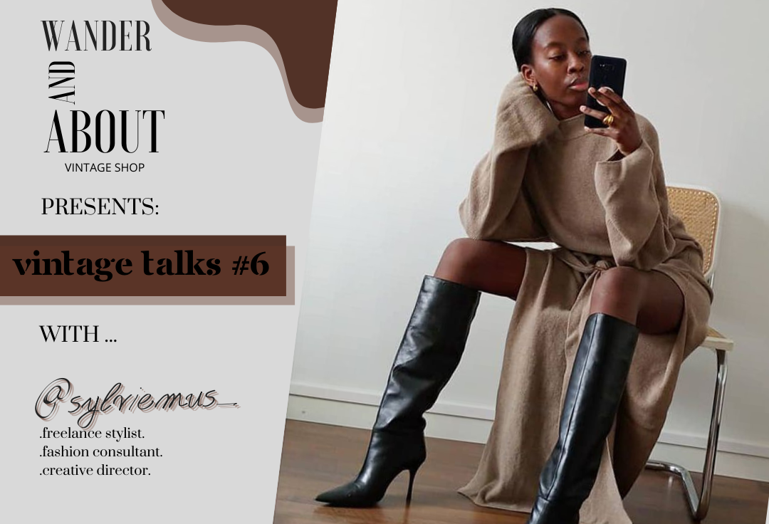 VINTAGE TALKS #6 ... with @sylviemus_