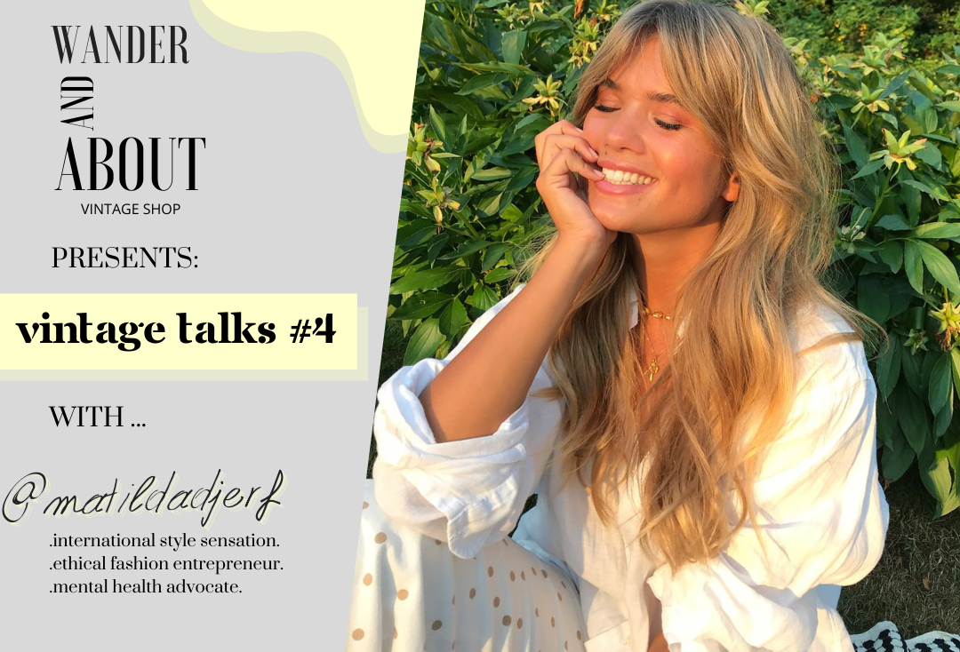 VINTAGE TALKS #4 ... with @matildadjerf