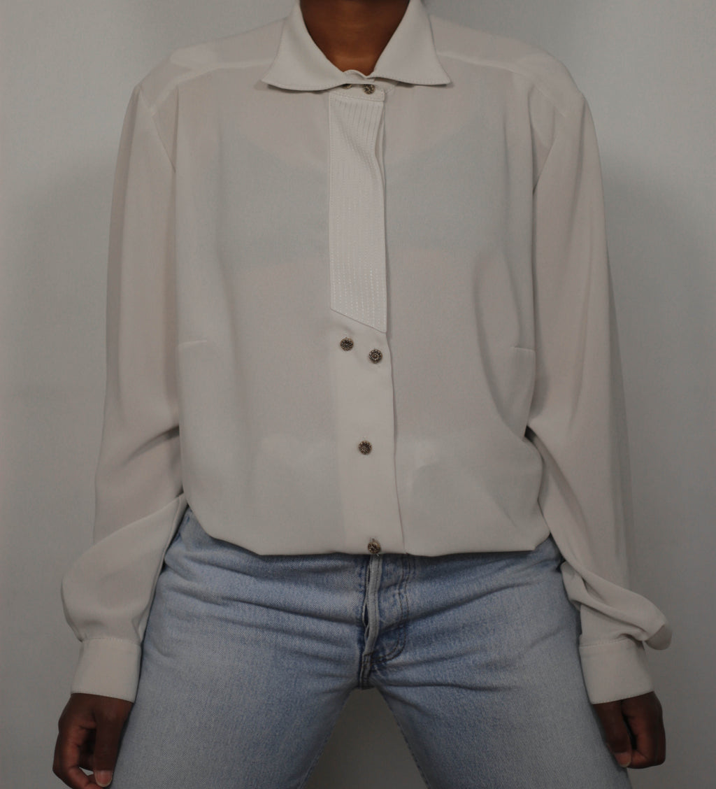 Vintage blouse made in West Germany