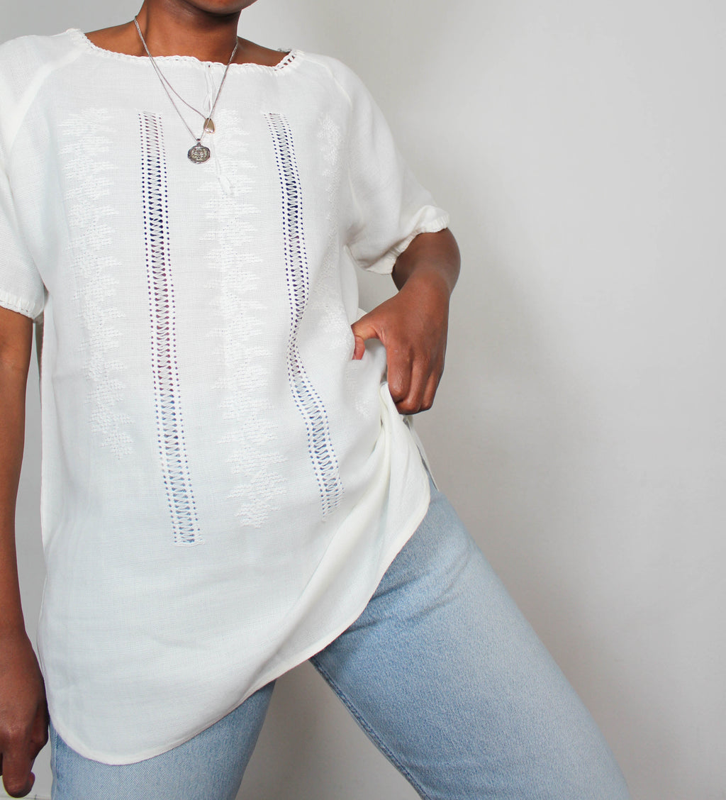 Vintage cotton tunic