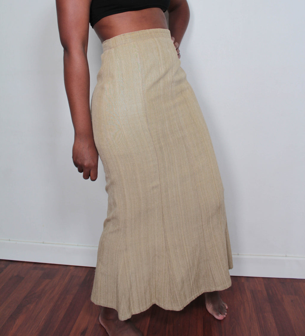 Ankle length skirt