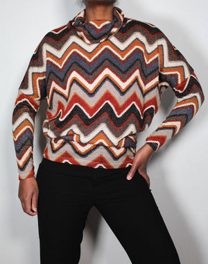 70's lurex top
